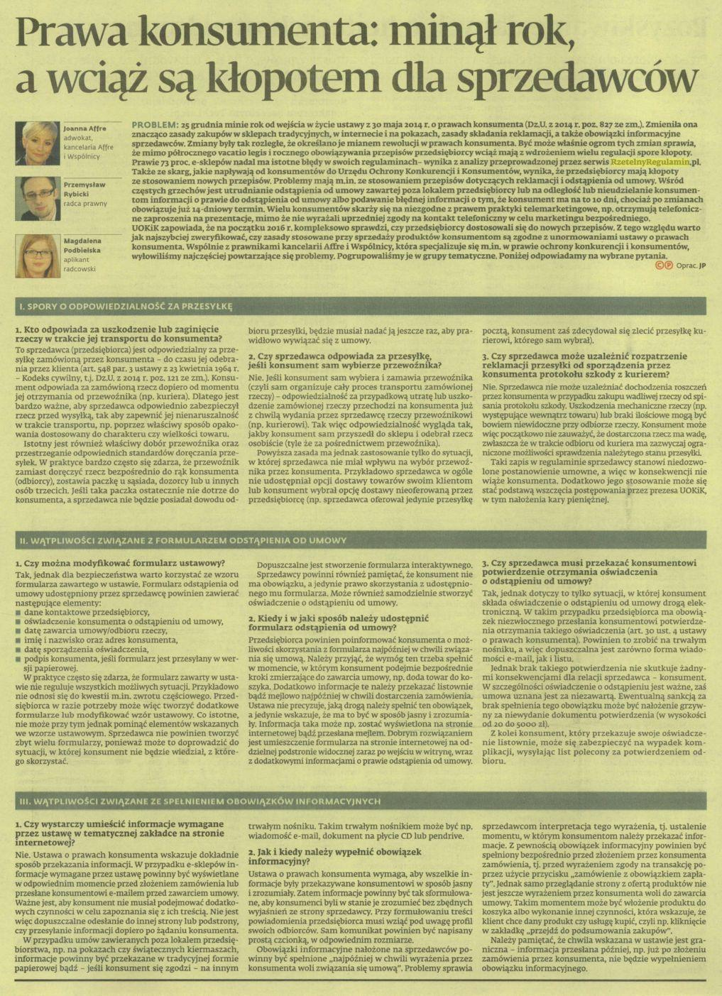 gazeta prawna RR